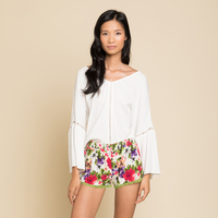 Raga Tropical Floral Shorts