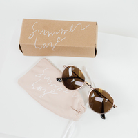 Summer and Rose round sunglasses