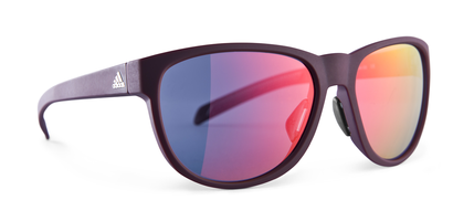 WILDCHARGE Maroon Sunglasses