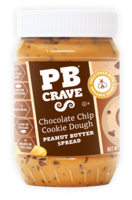 PB Crave Chocolate Chip Cookie Dough Peanut Butter