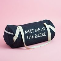 Private Party Gym Bag Meet Me At the Barre
