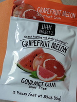 Project 7 Grapefruit Melon Gourmet Gum