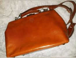 Mutsaers Dr. Apple Cognac Leather Bag