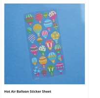 Hot Air Balloon Stickers