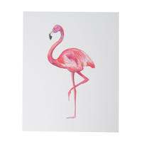 Flamingo Art Print from ThimblePress