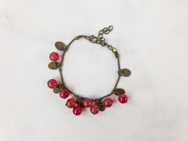 MINT MONGOOSE CHERRY BRACELET