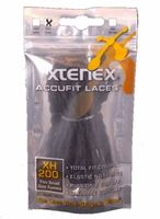 Xtenex Accufit Shoe Laces in Black