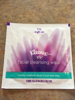 Kleenex Facial Cleansing Wipe