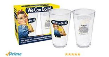 We Can Do It! Pint Glass Set