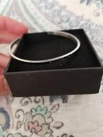 Bibliophile silver cuff bracelet