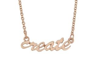 Create Script Tribe Necklace