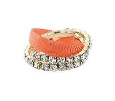 Shelly Crystal Stretch Bracelet Set