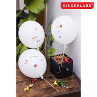 Kikkerland Message Balloons