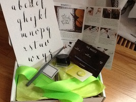 April Whimseybox Calligraphy Kit