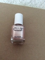 Color club nail polish gold struck
