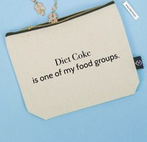 Diet Coke Is One Of My Food Groups Cosmetic Bag
