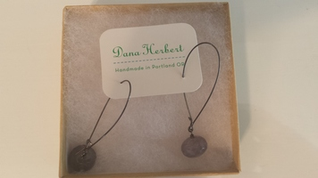 Dana Herbert Earrings in light gray