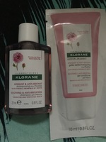 Klorane Comfort Soothing & Anti-Irritating Shampoo with Peony