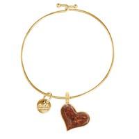 Dune Jewelry Gold Heart Beach Bangle