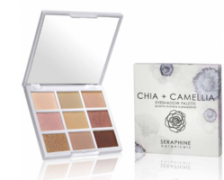 Seraphine Chia + Camellia eye shadow palette