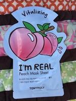 Tonymoly I'm Real Peach mask