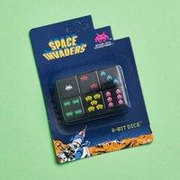 Space Invaders D6 8-bit Dice