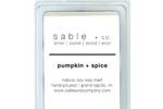Sable + Company Pumpkin Spice Wax Melt