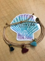 Pura Vida September 2017-Cream Original with Tassels
