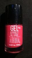 Aurora Gel Effect Nail Polish 4 Alarm Fire