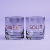 Sisters of Los Angeles Sweet & Sour Glasses