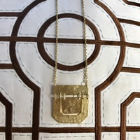 Gold Pendant Necklace from Stitch Fix