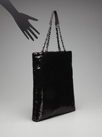 R & Em by Rebecca Minkoff Black Sequin Tote