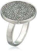 Karen Kane - Starry Disc Ring - Silver