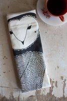 Gingiber Owl Tea Towel