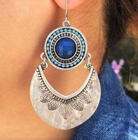 """Venice """"Ornate"""" Beaded Drop Earrings"""