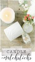 Skeem Design Lemon Oak Candle & Matchsticks