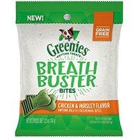 Greenies Breath Buster Bites Chicken & Parsley Flavor Fresh Breath Dental Dog Treats