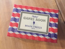 Games Room Brain Freeze