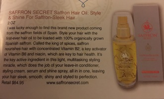 Saffron Secret Hair Oil
