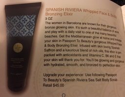 Spanish Riviera Whipped Face & Body Bronzing Elixir