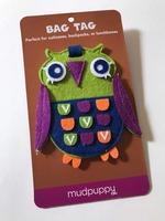 Owl Bag Tag