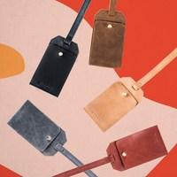 Nisolo Leather Luggage Tag