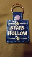 Stars Hollow keychain