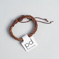 Peter Daniel Leather Bracelet