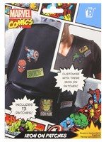 Marvel Icons Iron On Patch Set