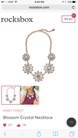 Perry Street Blossom Crystal Necklace