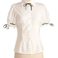 Bettie Page Puff Love Top