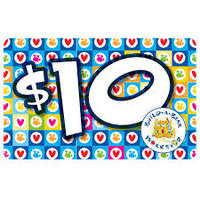 Build a bear $10 gift card