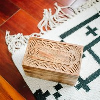 Rosewood Tea Box