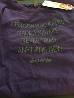 Purple Girls Tshirt size Large
